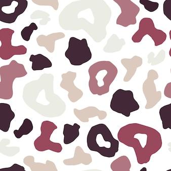 표범 피부 완벽 한 패턴입니다. 치타 모피 벽지.