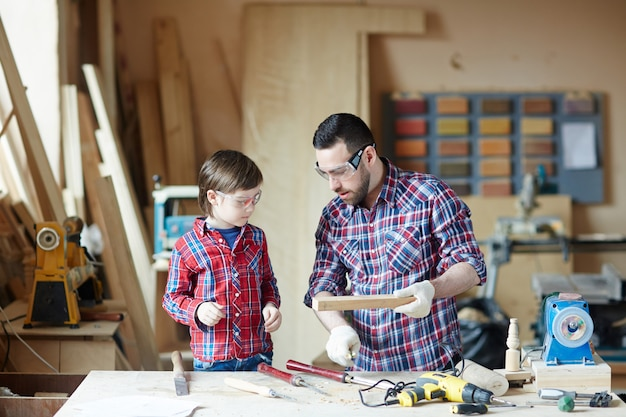 Lesson of cabinetmaking