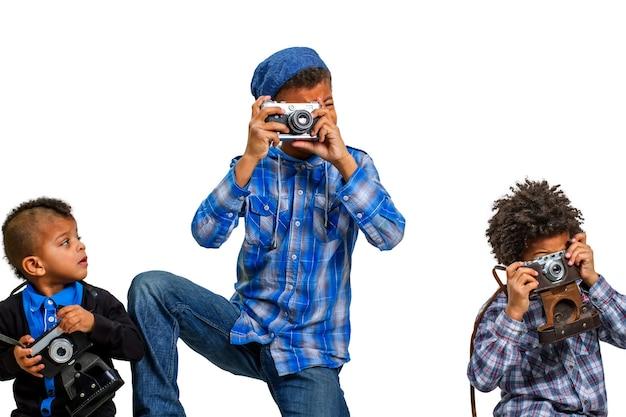 Урок фотографии для детей.