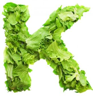 Письмо к свежим и вкусным салатом