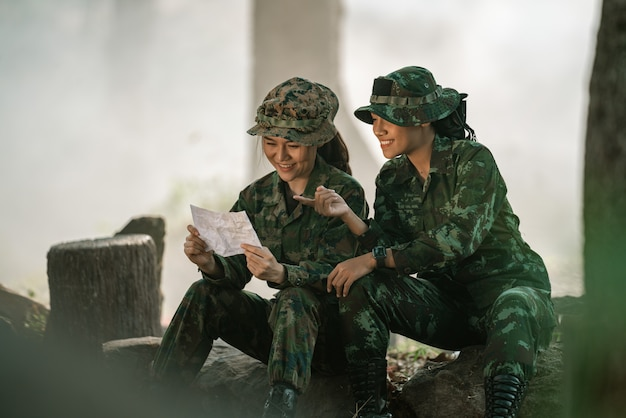 女性兵士への手紙