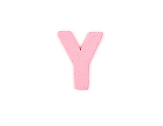 나무로 만든 편지 y