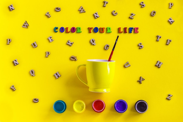 Lettering color your life