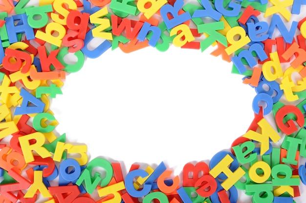 Буквы с алфавитом