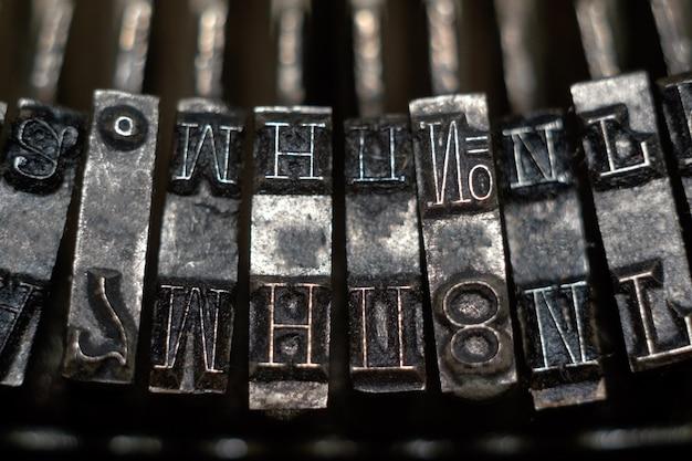 Рычаги печатной машины, закрыть