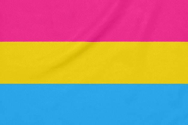 Флаг сообщества лгбт-пансексуалов