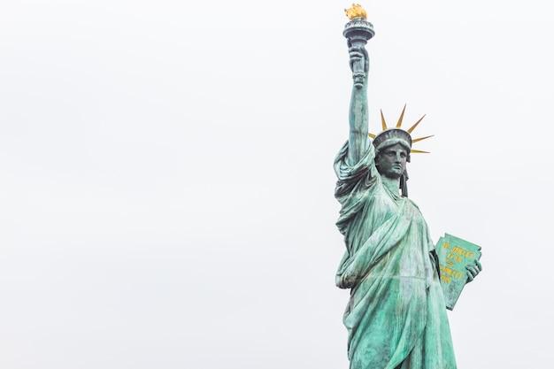 뉴욕시의 랜드 마크인 자유의 여신상
