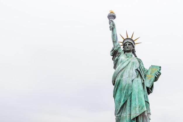 Liberty statue, a landmark of new york city