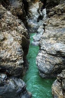 Liechensteinklamm (лихтенштейнское ущелье) в австрии, санкт-иоганн-им-понгау