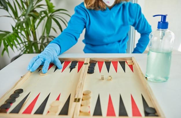 검역 코로나 바이러스에서의 생활 : 검역 covid-19 동안 집에서 아이들을위한 게임 및 활동