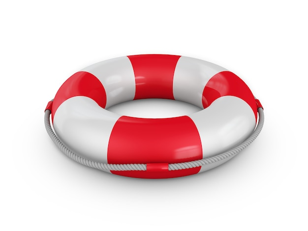 ロープo付き救命浮輪