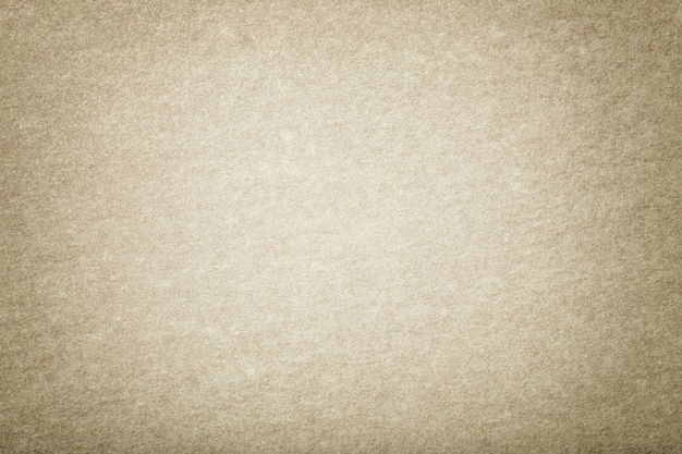 Light beige matt suede fabric