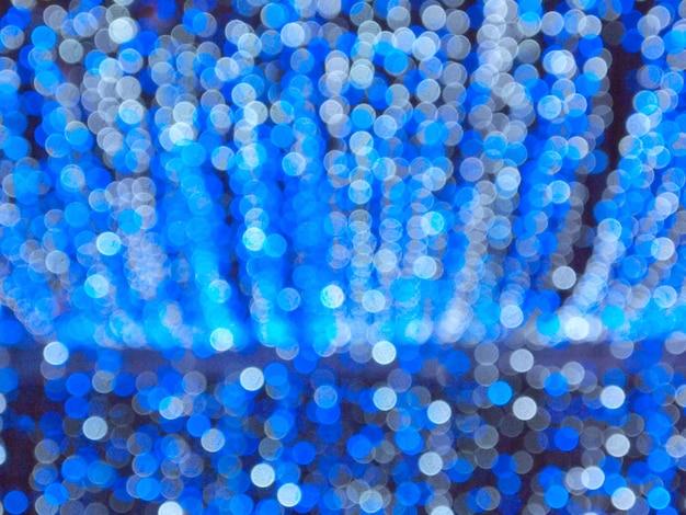 Light blue bokeh background