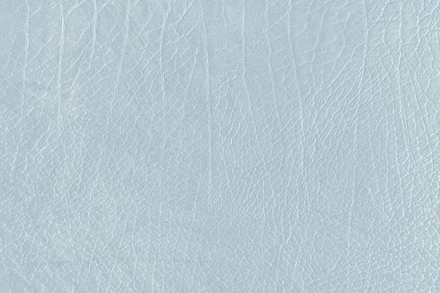 Light blue creased leather textured background