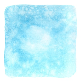 Light blue watercolor background - space for your own text