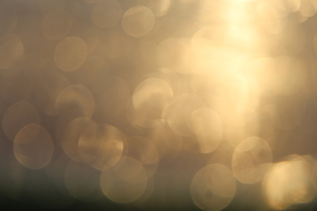 Light bokeh blurred abstract background