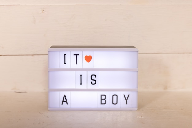 Light box, box isolated ,pregnancy, maternity, family