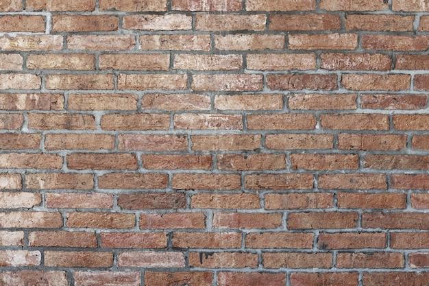 밝은 갈색 벽돌 벽 추상적 인 배경입니다. 벽돌의 질감입니다. 웹 배너에 대 한 템플릿 디자인입니다.