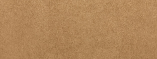 Light brown kraft paper texture banner background
