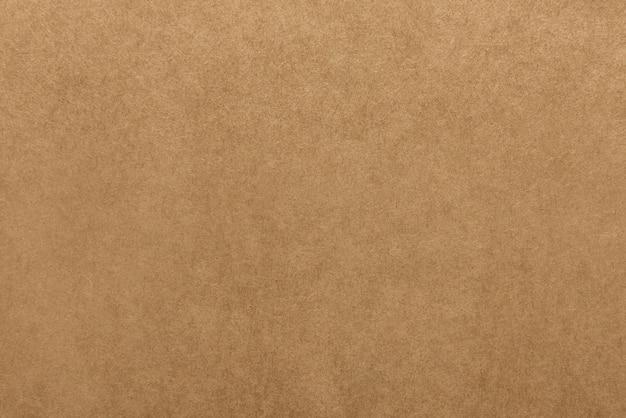 배경에 대한 밝은 갈색 크래프트 종이 질감