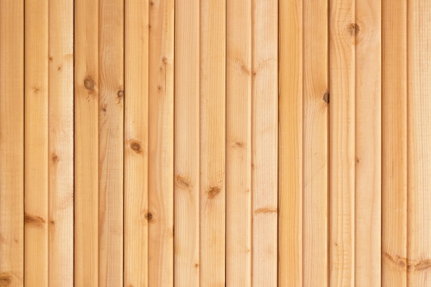 Light brown wooden planks wall texture background.