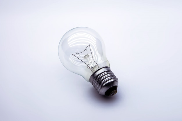 Light bulb, brainstorming, startup and successfully.