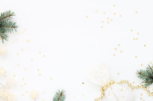 Легкий рождественский фон настроения