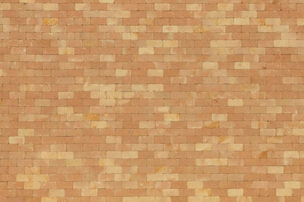 軽い粘土レンガの壁のテクスチャ