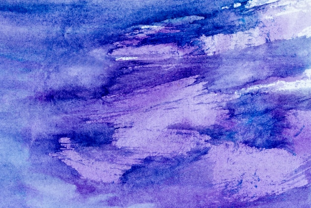 Light colorful watercolor stains. abstract painted background