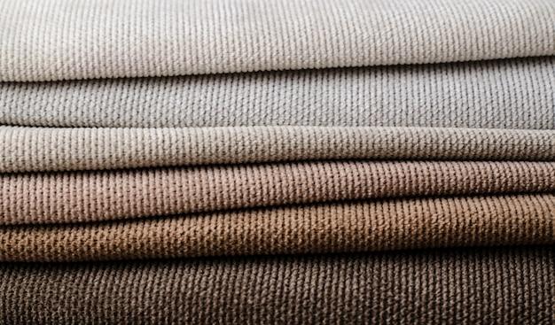 Light colors velour textile samples.. fabric texture