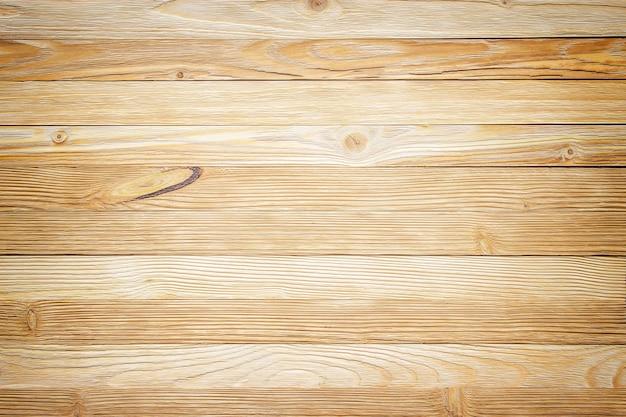 軽い床板、板の質感のクローズアップ。木質の壁