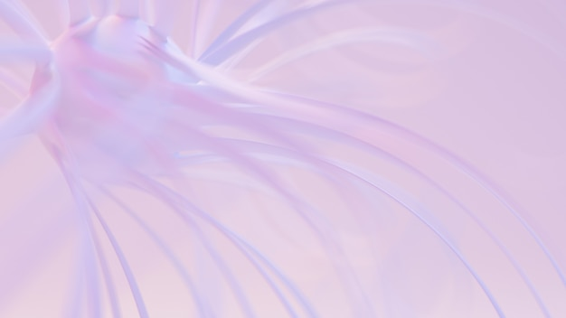 Легкий, нежный абстрактный фон 3d рендеринга
