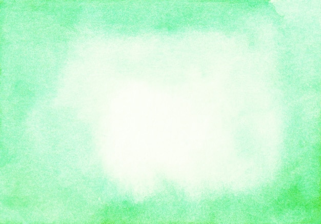 Light green watercolor surface background