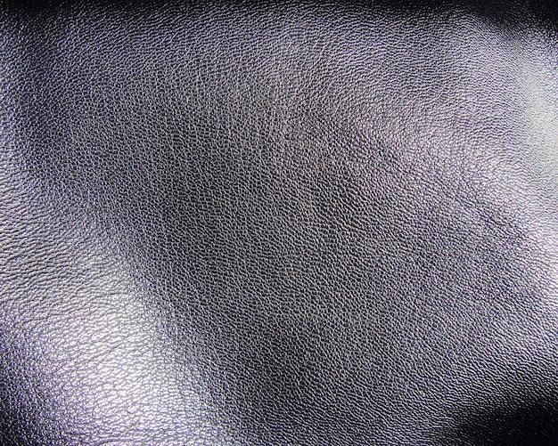 ライトグレーの革のテクスチャ背景
