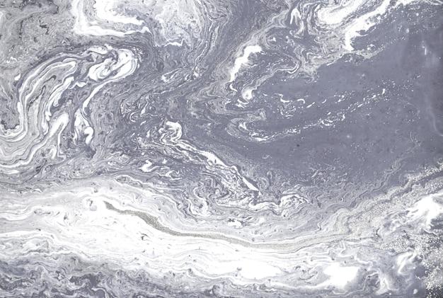 Light grey plaster liquid texture abstract background