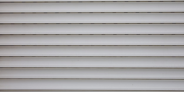 Light grey plastic texture metallic roller shutter door gray panels background