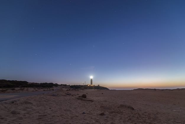 The light of lighthouse