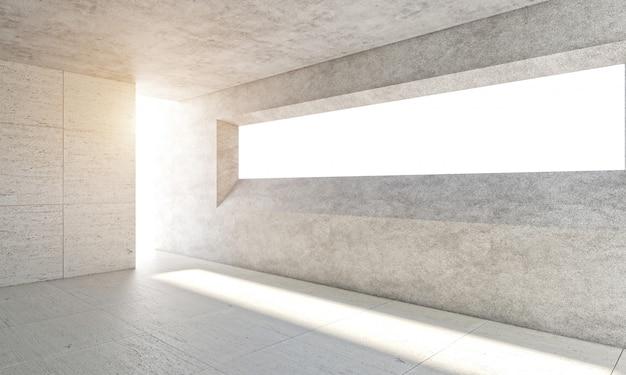 Light in modern room