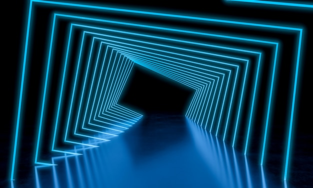 Light neon background