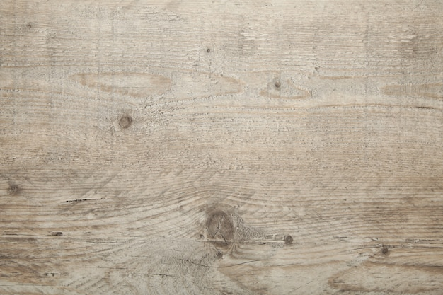 Light old wooden background with horizontal boards