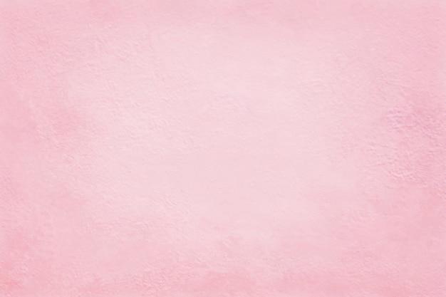 背景とデザインアートワークのための淡いピンク色のコンクリートセメント壁のテクスチャ。