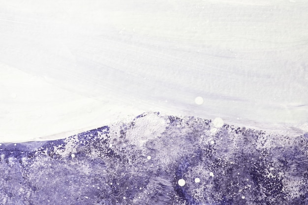 밝은 보라색과 흰색 색상. 보라색 그라데이션으로 캔버스에 수채화 그림. 라벤더 패턴 종이