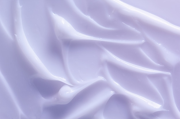 Light purple cosmetic lotion texture