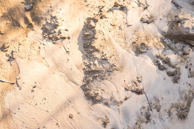 Легкий морской песок с красивой текстурой