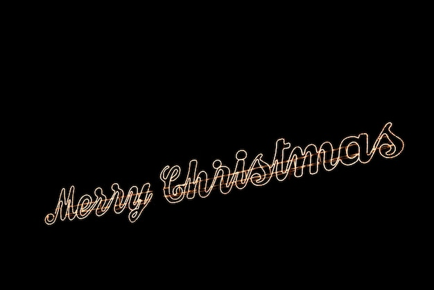 Light text merry christmas background with copy space