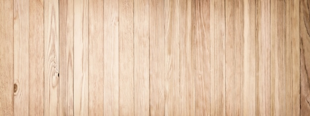 Light wood texture, panoramic background of old boards