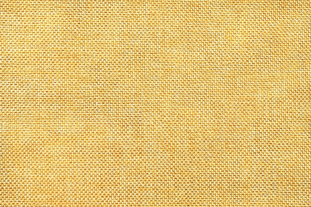 Light yellow background of dense woven bagging fabric
