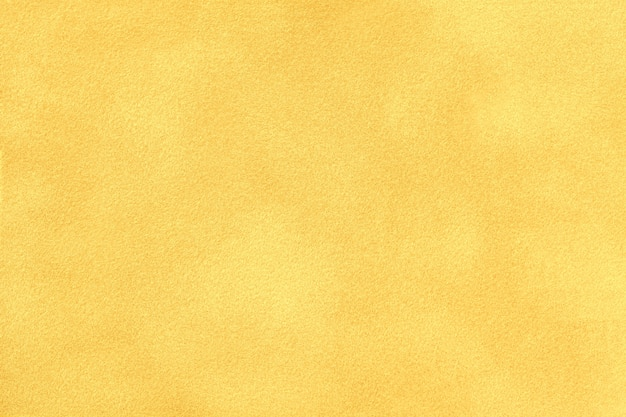 Light yellow matte suede fabric