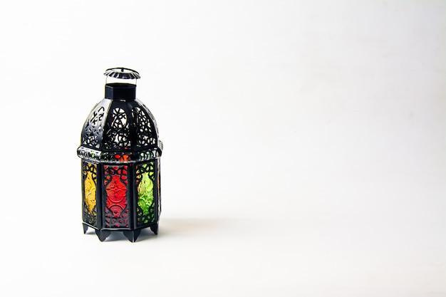 Lightened lantern style arab or morocco