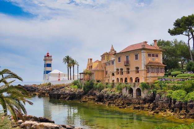 ポルトガル、カスカイスの灯台